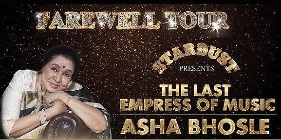 Asha Bhosle concert tickets and corporate hospitality packages