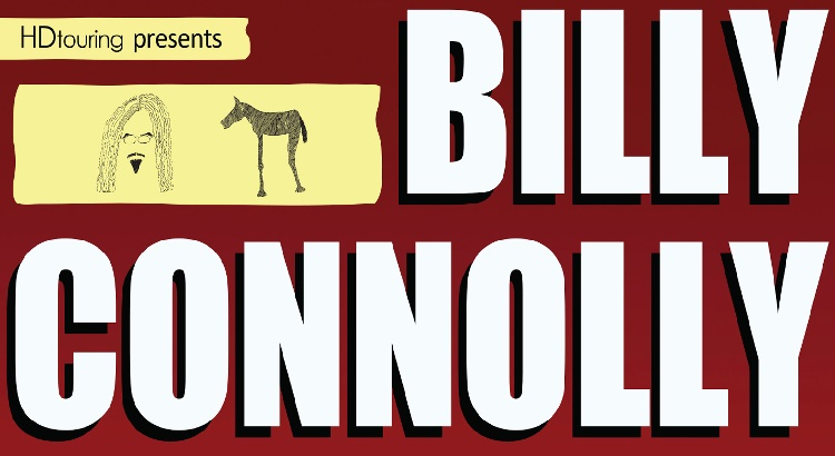 Billy Connolly concert tickets and corporate hospitality packages