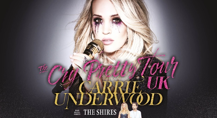 Carrie Underwood Resorts World Arena concert tickets corporate hospitality packages