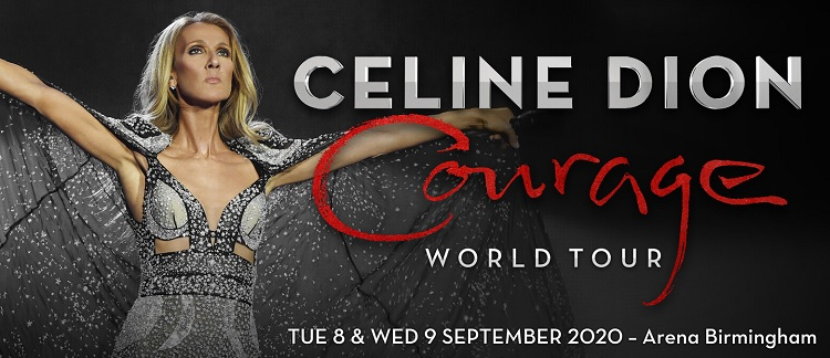 Celine Dion Arena Birmingham concert tickets corporate hospitality packages