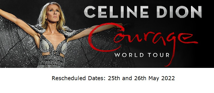 Celine Dion Utilita Arena Birmingham concert tickets corporate hospitality packages