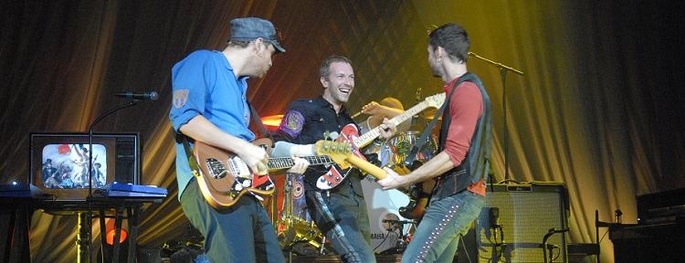 Coldplay concert tickets and hospitality packages