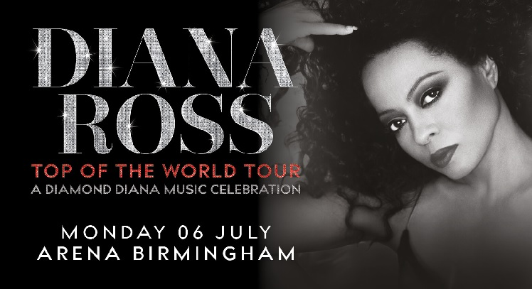 Diana Ross Arena Birmingham concert tickets corporate hospitality packages