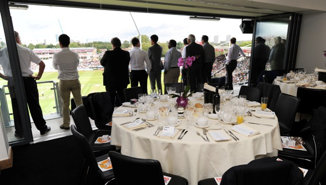 Warwickshire Suite Edgbaston Cricket Ground tickets corporate hospitality