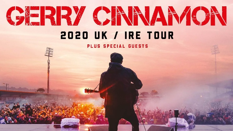 Gerry Cinnamon Resorts World Arena concert tickets corporate hospitality packages
