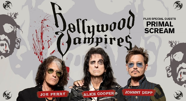 Hollywood Vampires Arena Birmingham concert tickets corporate hospitality packages