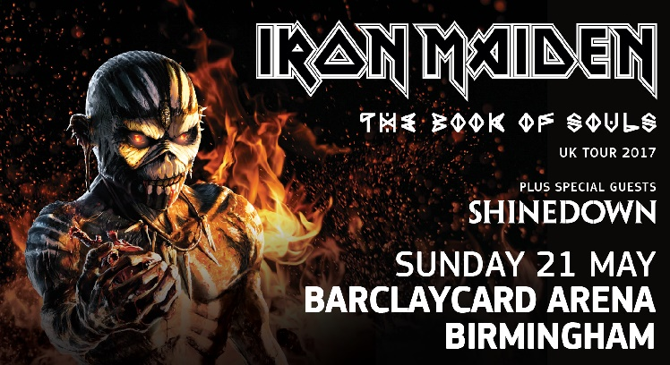 Iron Maiden concert tickets corporate hospitality packages