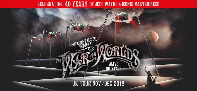 Jeff Waynes War of the Worlds Genting Arena concert tickets corporate hospitality packages