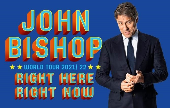 John Bishop Utilita Arena Birmingham concert tickets corporate hospitality packages