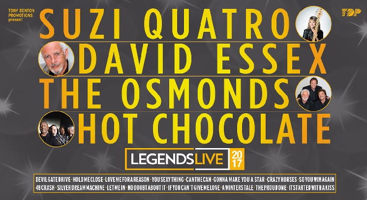 Legends Live concert tickets corporate hospitality tickets