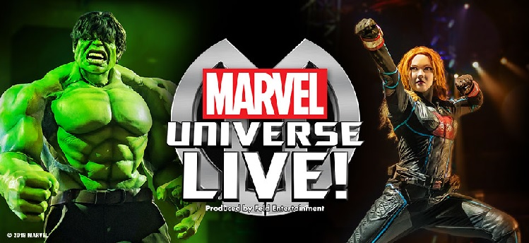 Marvel Universe Live Arena Birmingham concert tickets corporate hospitality packages