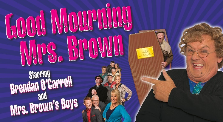 Mrs Brown tickets and corporate hospitality packages