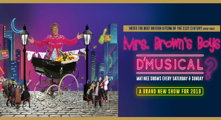 Mrs Browns Boys Resorts World Arena Concert tickets corporate hospitality packages