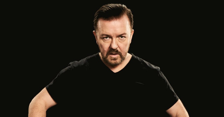 Ricky Gervais tickets corporate hospitality packages