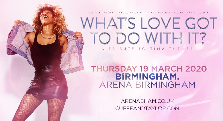 Whats Love Got to do with it Arena Birmingham concert tickets corporate hospitality packages