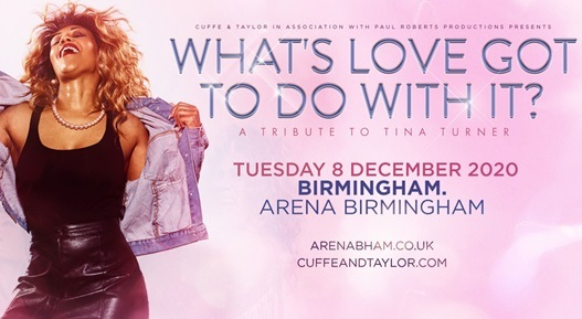 Whats Love Got to do with it Arena Utilita Birmingham concert tickets corporate hospitality packages