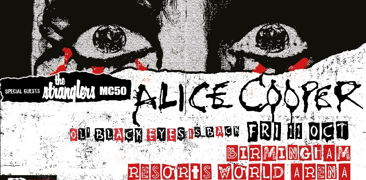 Alice Cooper Resorts World Arena concert tickets corporate hospitality packages