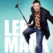 Lee Mack tour Tickets Hospitality Packages