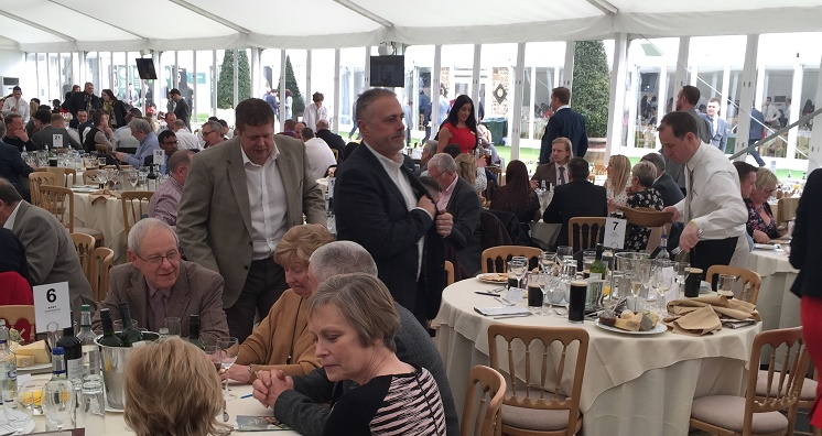 Cheltenham Festival Marquee Corporate Hospitality