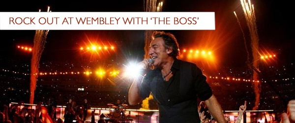 Bruce Springsteen concert tickets corporate hospitality packages