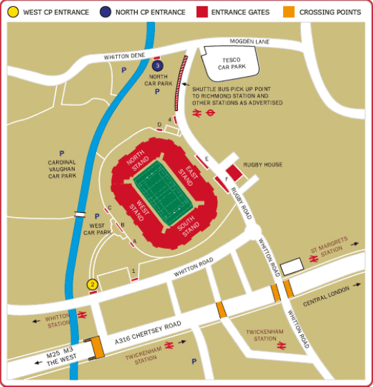 Twickenham Hotels With Parking